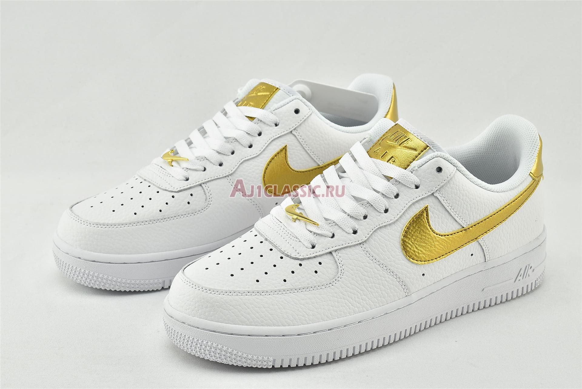 "Nike Air Force 1 07 LV8 ""Gold Foil Swoosh"" DC2181-100"