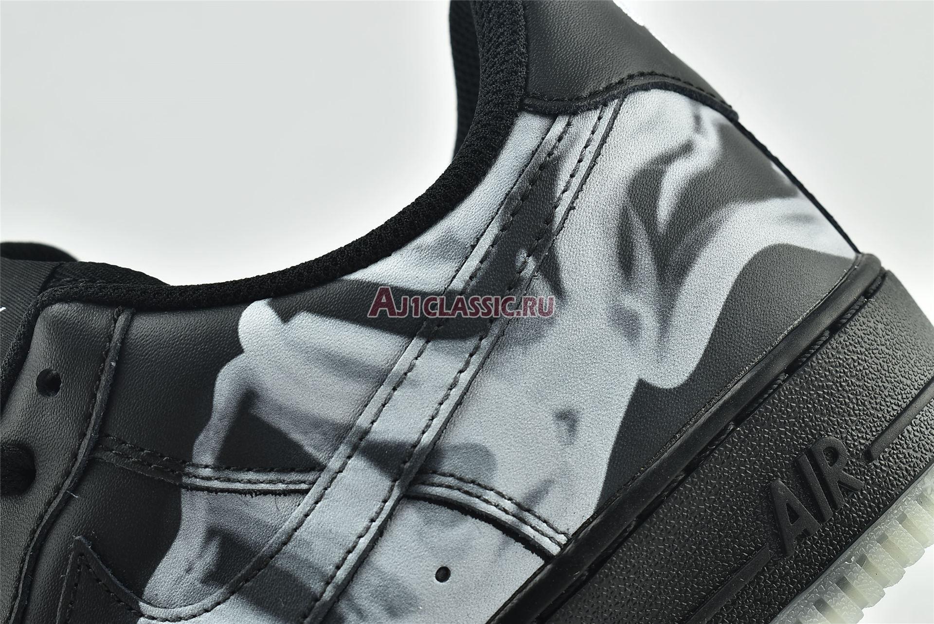 "Nike Air Force 1 07 QS ""Black Skeleton"" BQ7541-001"