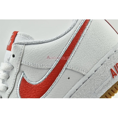 Nike Air Force 1 Low White Chile Red DA4660-101 White/Chile Red/Glacier Ice Sneakers
