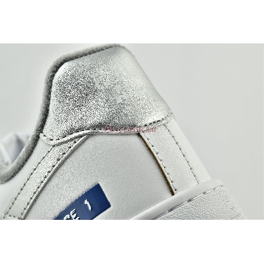 Nike Air Force 1 Low Label Maker DC5209-100 White/Silver/Blue Sneakers