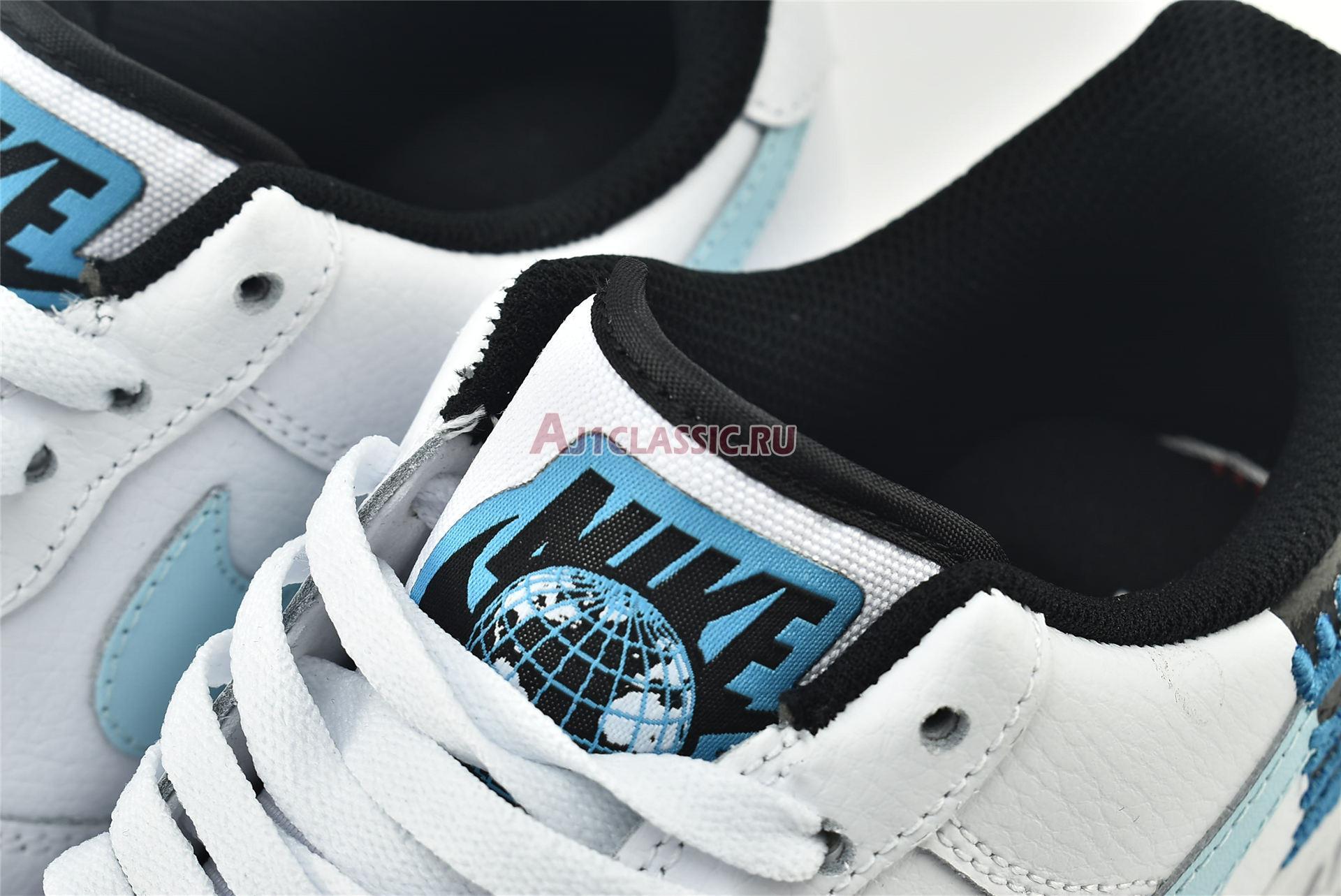 "Nike Air Force 1 07 LV8 ""Worldwide Pack - Glacier Blue"" CK6924-100"