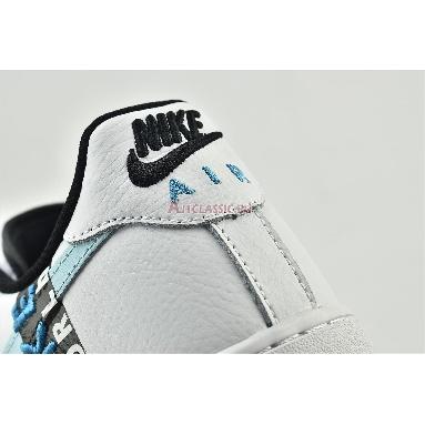Nike Air Force 1 07 LV8 Worldwide Pack - Glacier Blue CK6924-100 White/Blue Fury/Black/Glacier Blue Sneakers