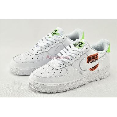 Nike Air Force 1 07 SE Worldwide Pack - Flash Crimson CT1414-100 White/Flash Crimson/Green Strike/White Sneakers