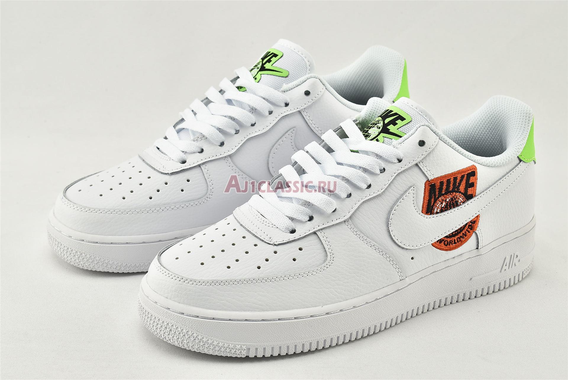 "Nike Air Force 1 07 SE ""Worldwide Pack - Flash Crimson"" CT1414-100"