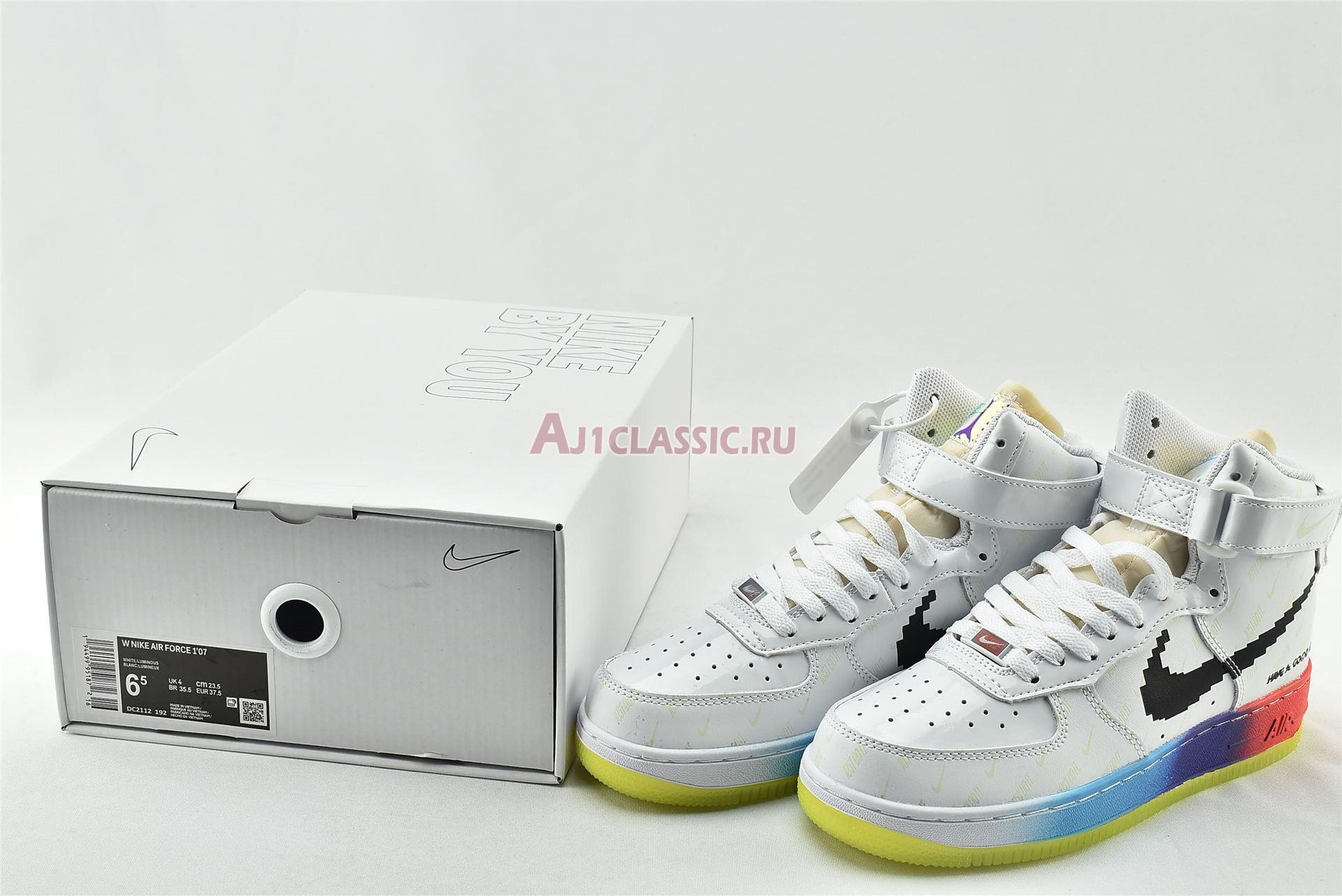 """Nike Air Force 1 High 07 Vintage """"Have A Good Game"""" DC2112-192"""