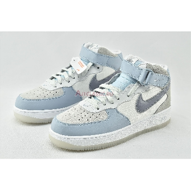 Nike Air Force 1 High 07 LV8 Light Armory Blue AO2425-500 Light Armory Blue/Obsidian Mist-Off White Sneakers