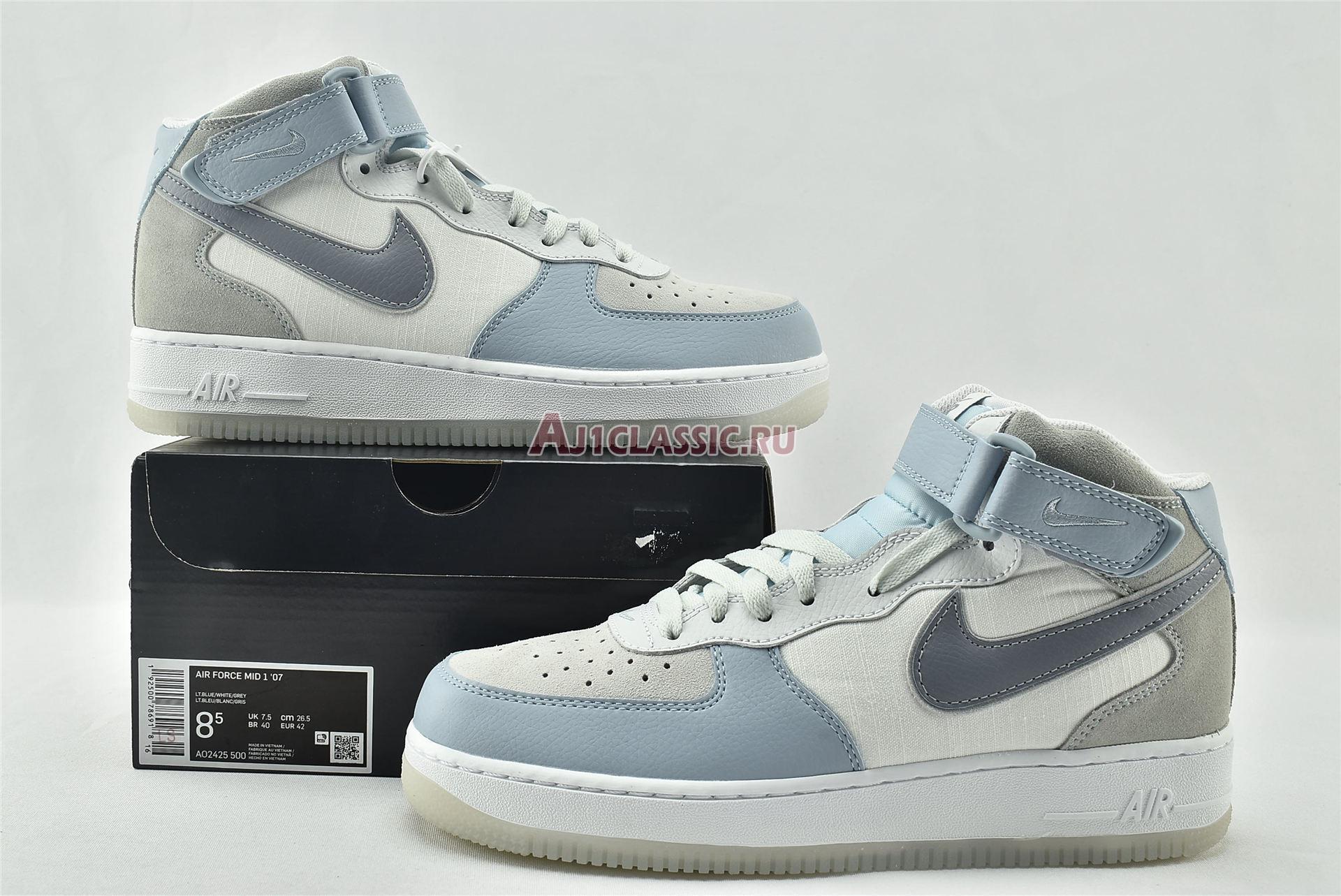 "Nike Air Force 1 High 07 LV8 ""Light Armory Blue"" AO2425-500"