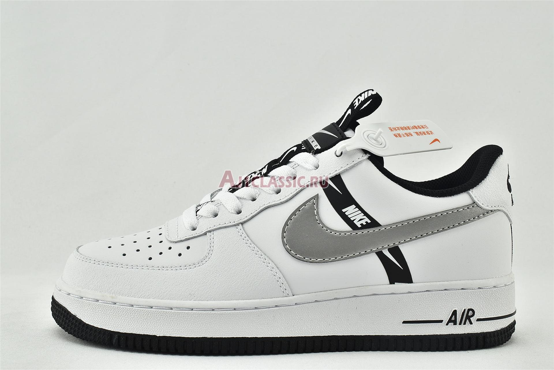 """Nike Air Force 1 LV8 KSA GS """"Worldwide Pack - White Reflect Silver"""" CT4683-100"""