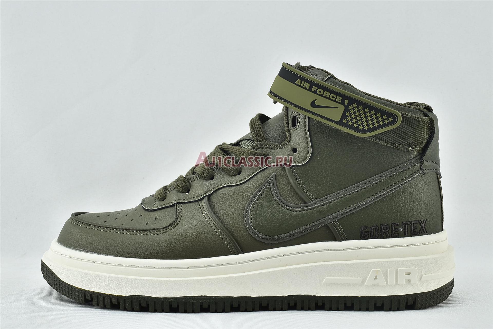 "Nike Air Force 1 Gore-Tex Boot ""Medium Olive"" CT2815-201"