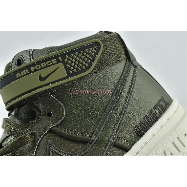 Nike Air Force 1 Gore-Tex Boot Medium Olive CT2815-201 Medium Olive/Sail/Seal Brown Sneakers