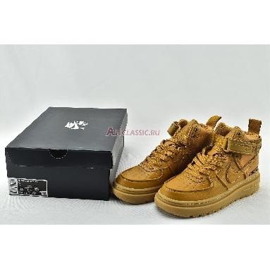 Nike Air Force 1 Gore-Tex Boot Wheat CT2815-200 Flax/Flax-Wheat-Gum Light Brown Sneakers