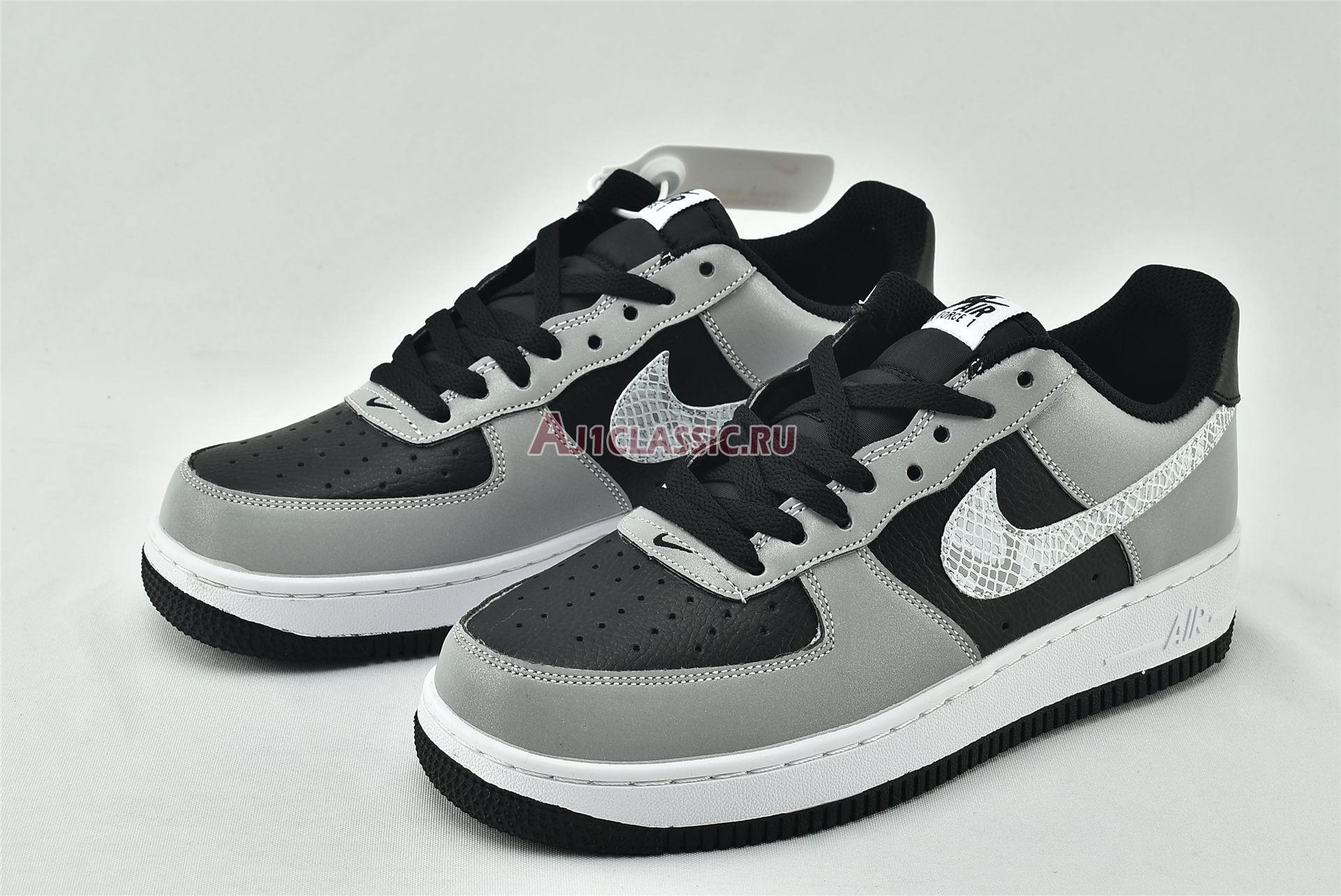 """Nike Air Force 1 Low """"3M Snake 2021"""" DJ6033-001"""