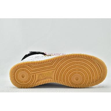 NBA x Air Force 1 High 07 LV8 White CT2306-100 White/White/Pure Platinum Sneakers