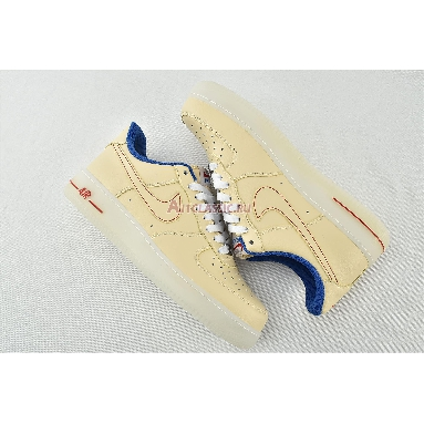 Nike Air Force 1 Low 07 LV8 Ice Sole DH0928-800 Guava Ice/Guava Ice/Game Royal Sneakers