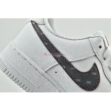 Nike 3M x Air Force 1 07 White CT2296-100 White/Silver/Anthracite/University Red Sneakers