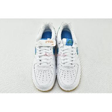 Nike Air Force 1 Low White Bright Blue Green DA4660-100 White/Blue/Green Sneakers