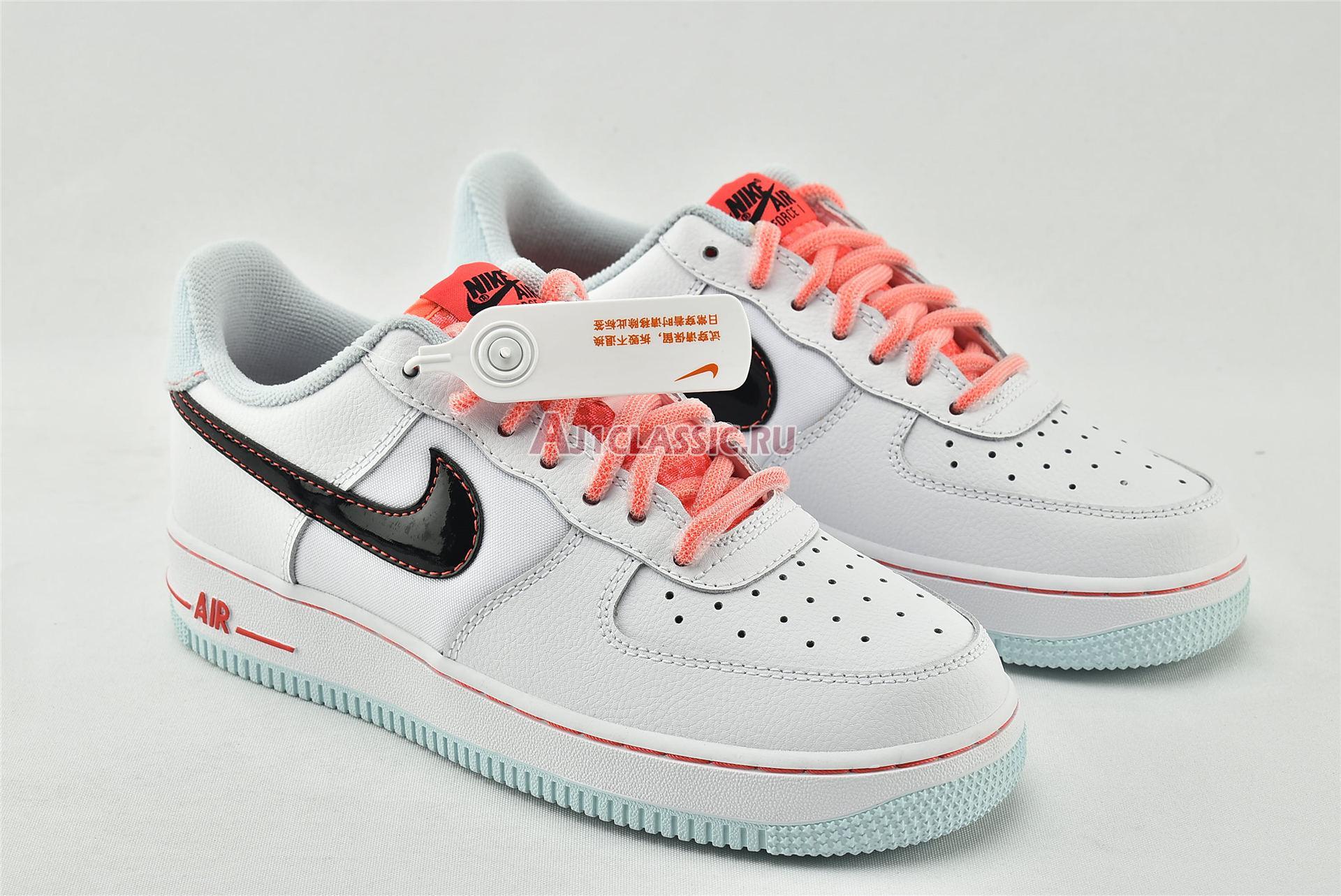"Nike Wmns Air Force 1 07 LV8 GS ""White Atomic Pink"" DD7709-100"