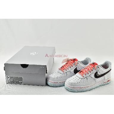 Nike Wmns Air Force 1 07 LV8 GS White Atomic Pink DD7709-100 White/Flash Crimson/Atomic Pink/Black Sneakers