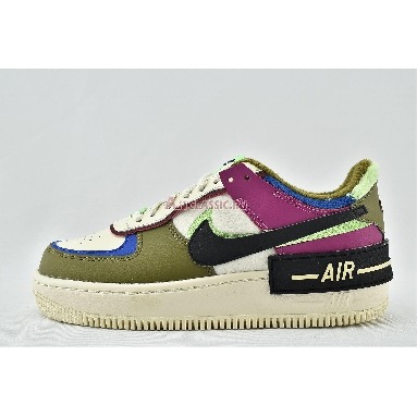 Nike Wmns Air Force 1 Shadow SE Cactus Flower CT1985-500 Cactus Flower/Fossil/Olive Flak Sneakers
