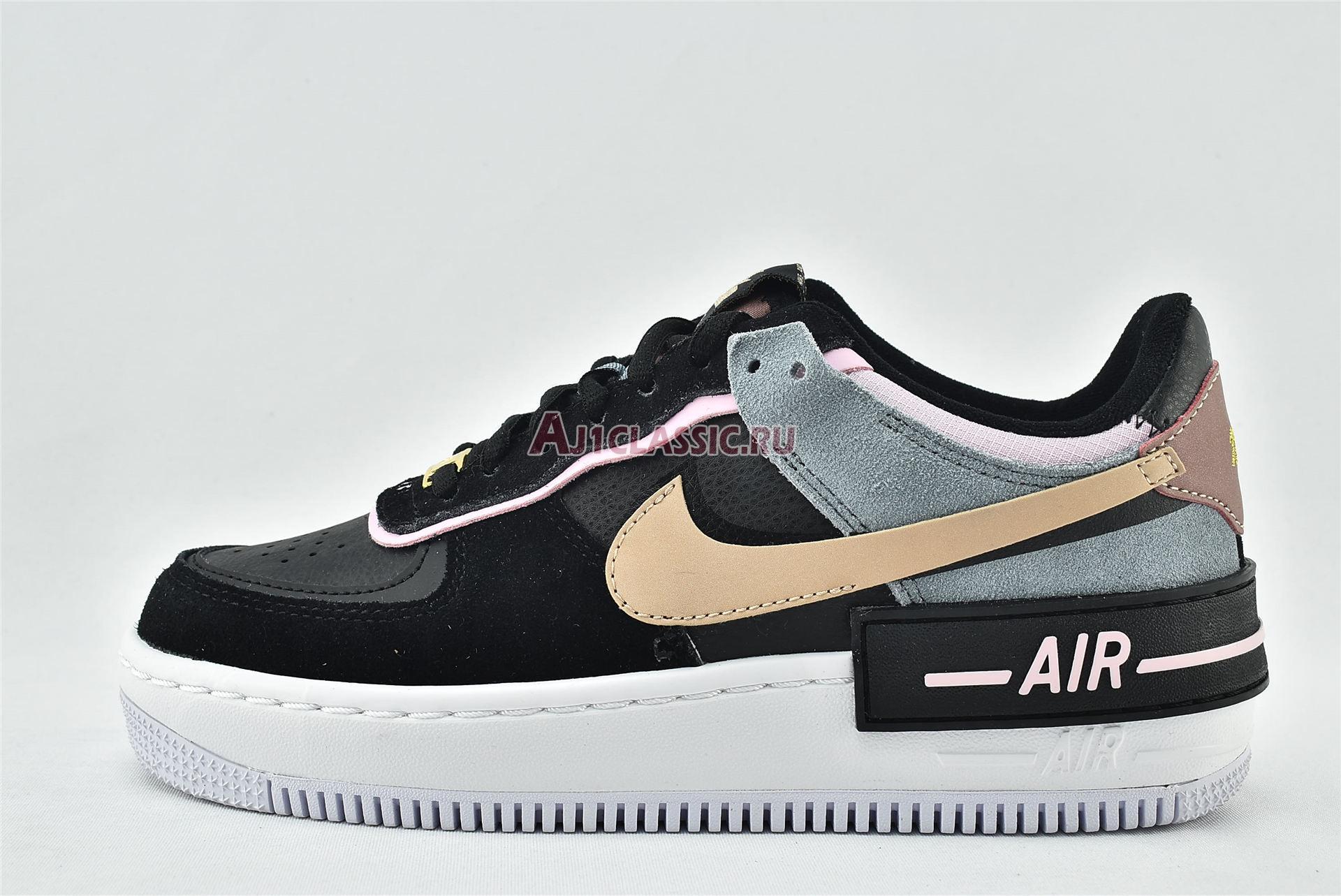 "Nike Wmns Air Force 1 Shadow ""Black Light Arctic Pink"" CU5315-001"