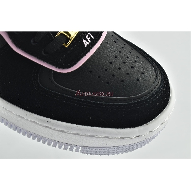 Nike Wmns Air Force 1 Shadow Black Light Arctic Pink CU5315-001 Black/Light Arctic Pink/Claystone Red/Metallic Red Bronze Sneakers