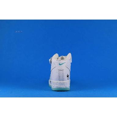 Steven Harrington x Nike Air Force 1 High Flyleather Earth Day CI5545-100 White/Black-Hyper Crimson Sneakers