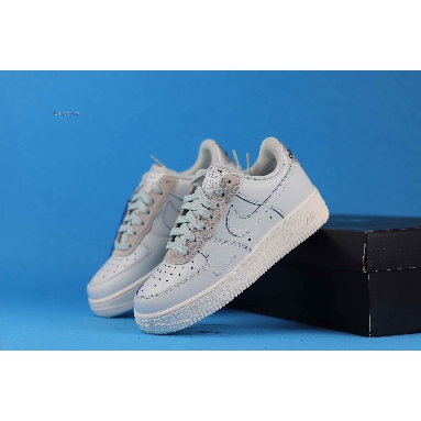 Devin Booker x Nike Air Force 1 Low LV8 Moss Point PE CJ9716-001 Barely Grey/Moon Particle-Pale Ivory Sneakers