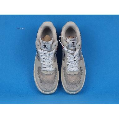 Nike Air Force 1 Low 07 Upstep Grey CT2253-100 Grey/Red Sneakers