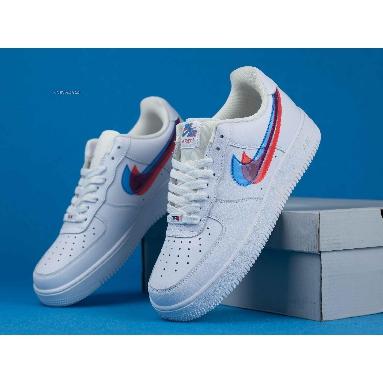 Nike Air Force 1 LV8 KSA GS 3D Glasses BV2551-100 White/Blue Hero/Bright Crimson Sneakers