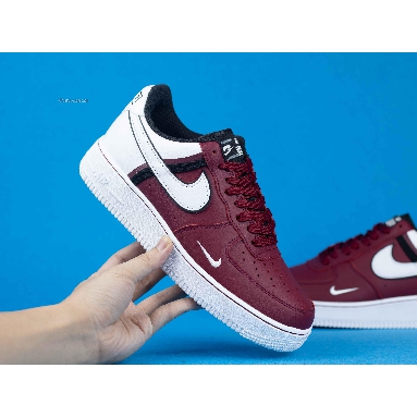 Nike Air Force 1 07 LV8 Red CI0061-600 Red/White/Black Sneakers