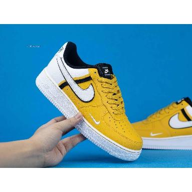 Nike Air Force 1 07 LV8 Yellow CI0061-700 Yellow/White/Black Sneakers