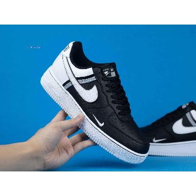 Nike Air Force 1 07 LV8 Black CI0061-001 Black/White/Grey Sneakers
