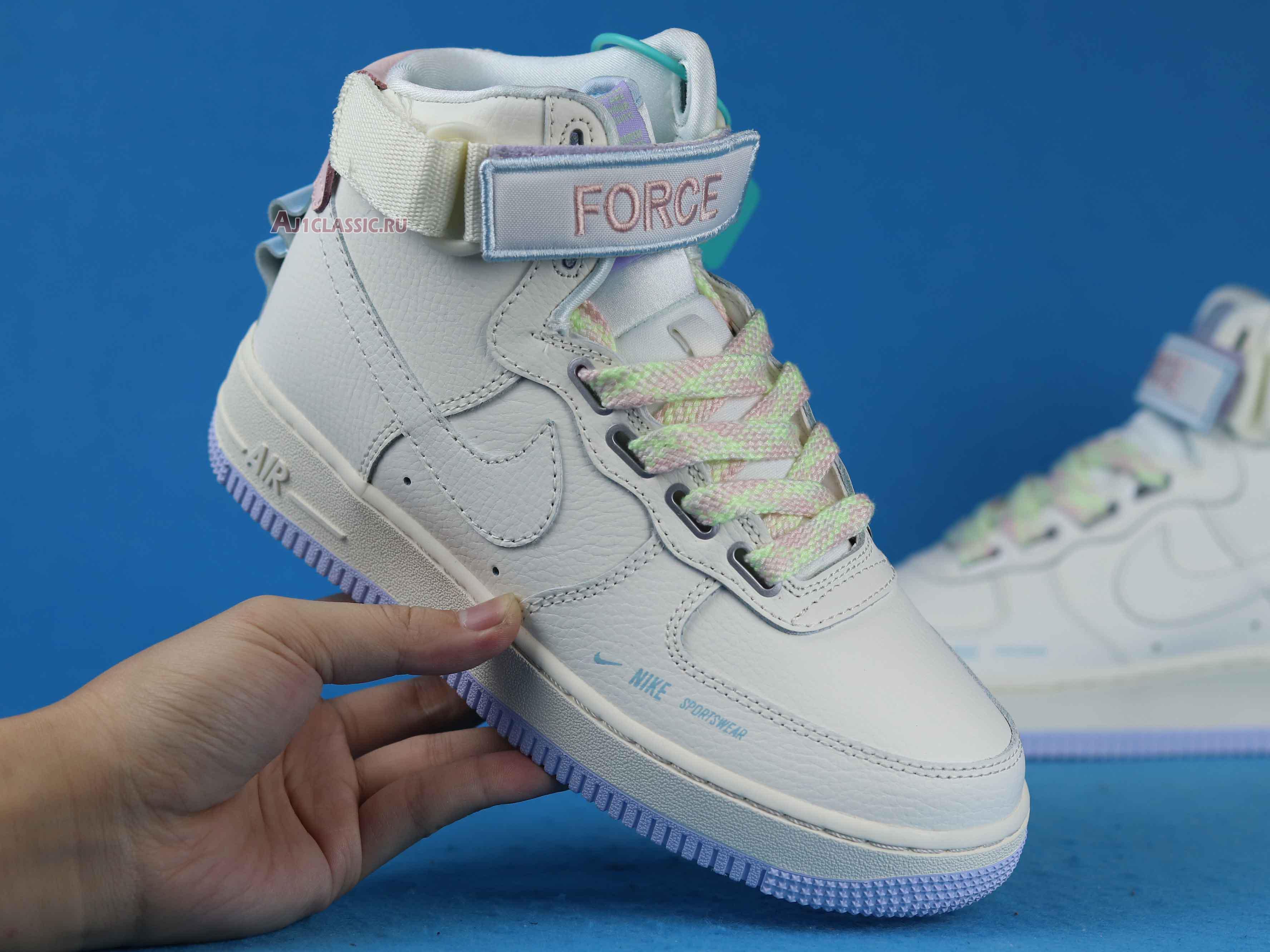 "Nike Air Force 1 High Utility ""Force is Female"" CQ4810-111"