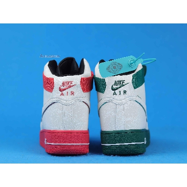Nike Air Force 1 High 07 LV8 China Hoop Dreams CK4581-110 Reflective Silver/Green/Red Sneakers
