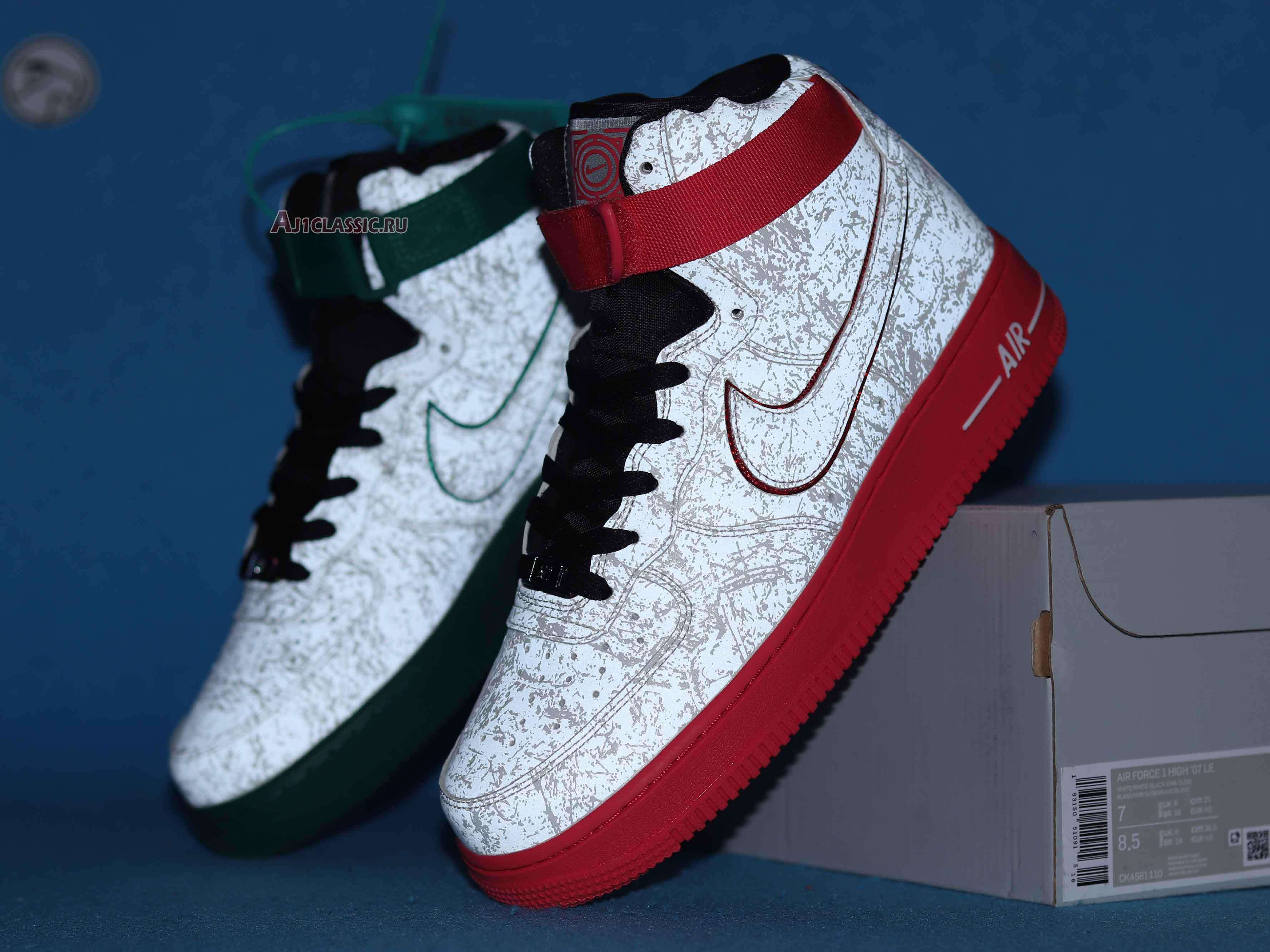 "Nike Air Force 1 High 07 LV8 ""China Hoop Dreams"" CK4581-110"