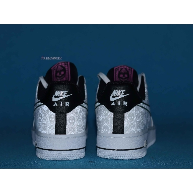 Nike Air Force 1 Low Day of the Dead CT1138-100 White/White/Black/Kinetic Green Sneakers