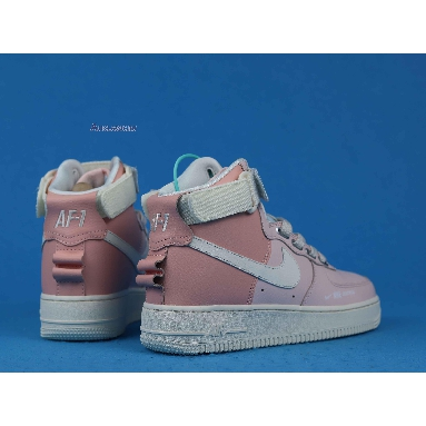 Nike Wmns Air Force 1 High Utility Force is Female CQ4810-621 Echo Pink/Sail Sneakers