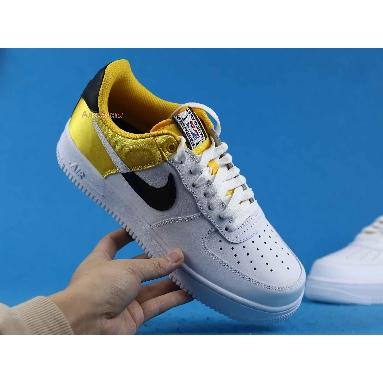 Nike NBA x Air Force 1 07 LV8 Amarillo BQ4420-700 Amarillo/Black/White/White Sneakers