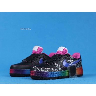 Nike Colette x Air Force 1 Low Supreme Busy P 318985-041 Black/Varsity Royal Sneakers