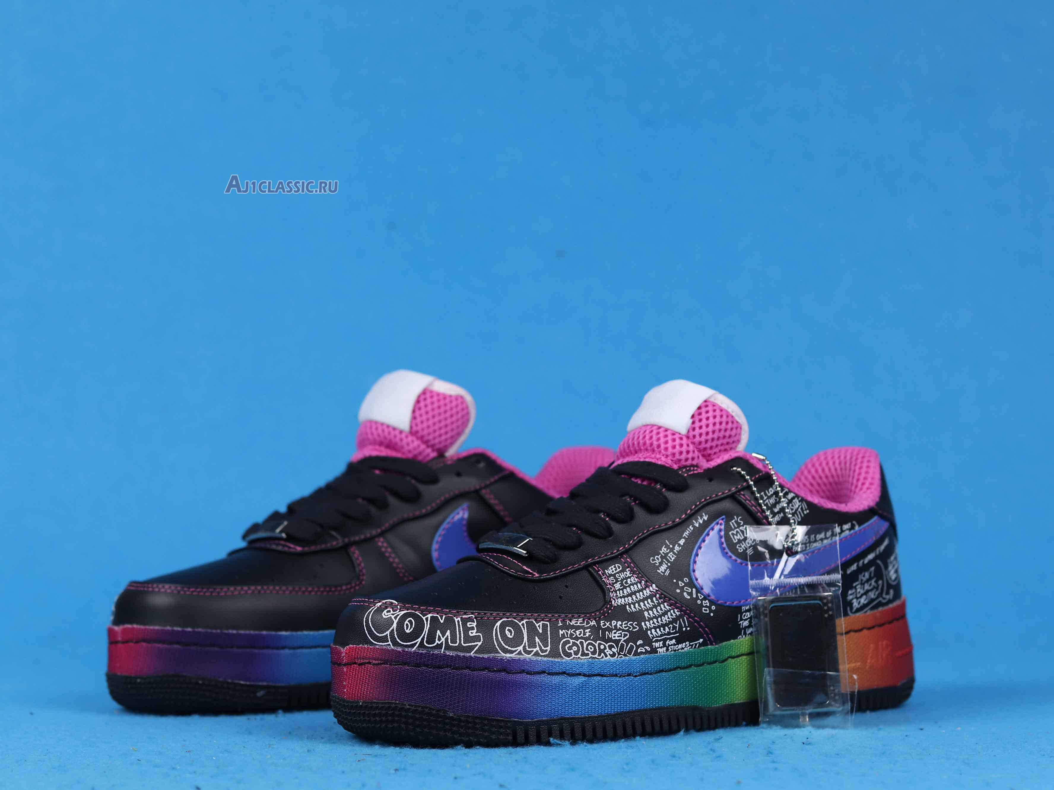 """Nike Colette x Air Force 1 Low Supreme """"Busy P"""" 318985-041"""