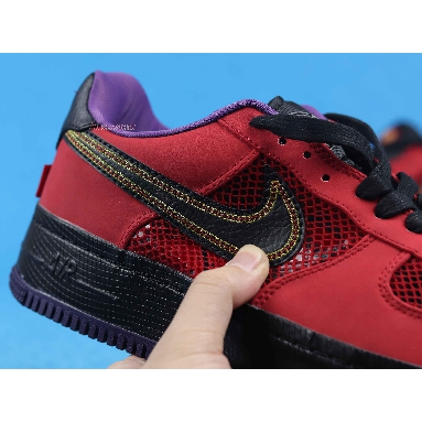 Nike Air Force 1 Ng Cmft Lw Year Of The Snake 555106-600 University Red/Black-Crt Prpl Sneakers