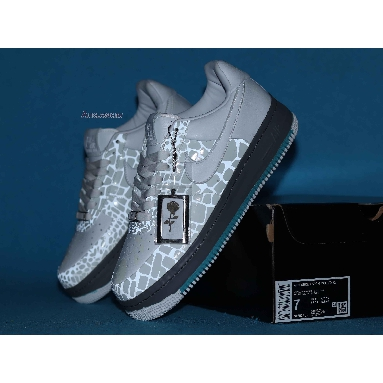 Nike Air Force 1 Sprm Mco I/O 07 Rosies Dry Goods 316077-111 White/White-Stealth-Sonic Yellow Sneakers