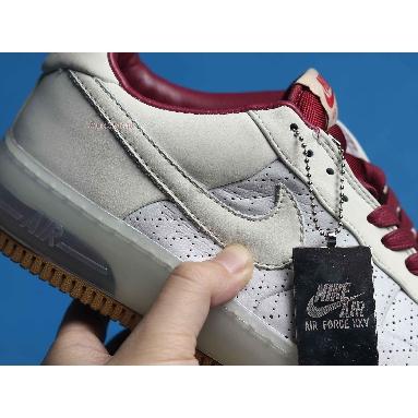 Nike Air Force 1 Supreme Max Air 318772-003 Ntrl Grey/Ntrl Grey Tm Red White Sneakers