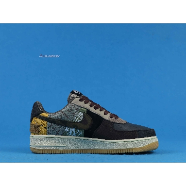 Travis Scott x Nike Air Force 1 Low Cactus Jack CN2405-900 Multi-Color/Muted Bronze/Fossil Sneakers