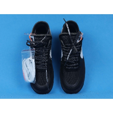 Off-White x Nike Air Force 1 Low Black AO4606-001 Black/White-Cone-Black Sneakers