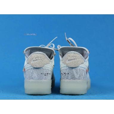 Off-White x Nike Air Force 1 Low The Ten AO4606-100 White/White-Sail Sneakers
