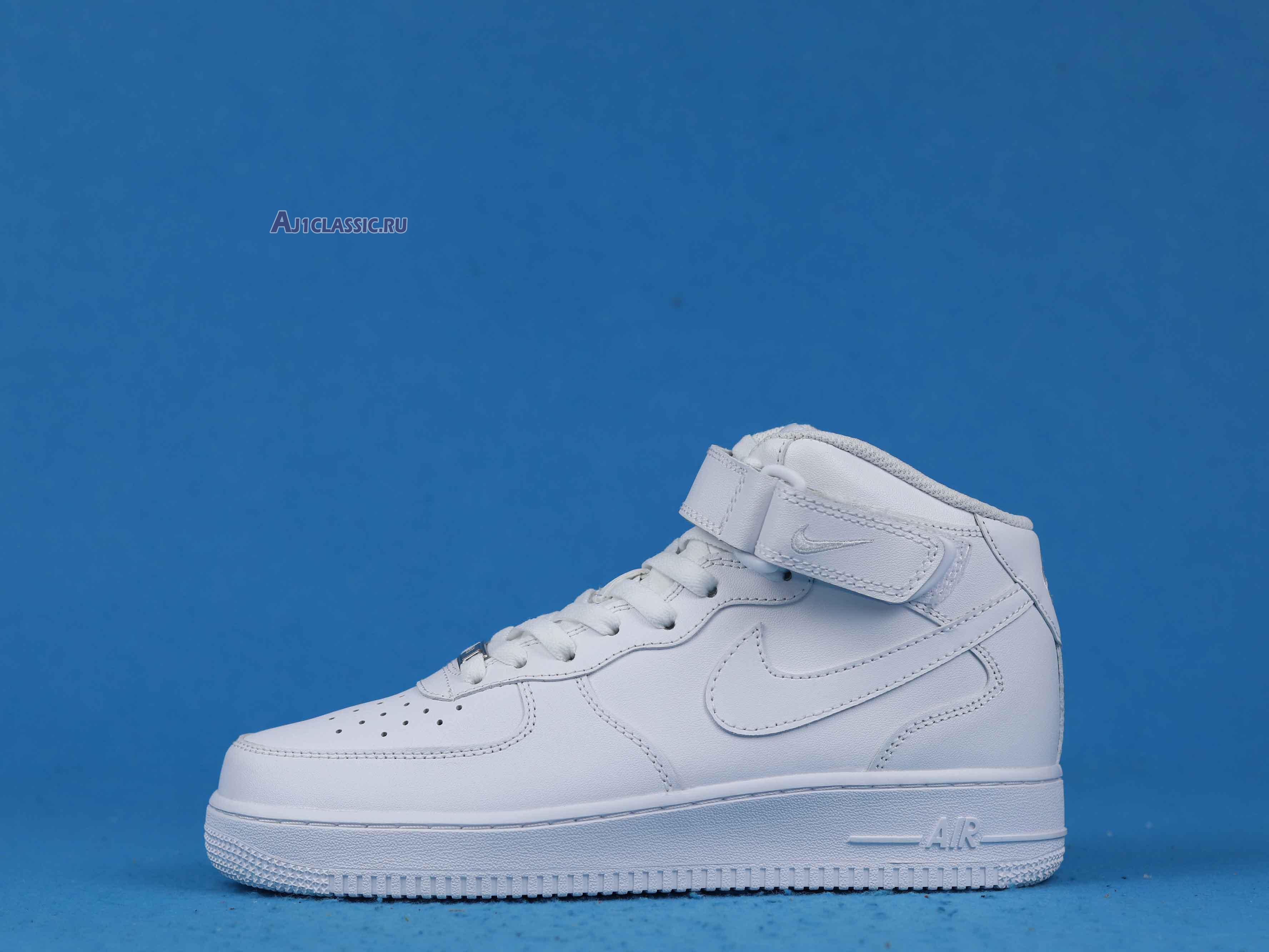 "Nike Air Force 1 Mid 07 ""White"" 315123-111"