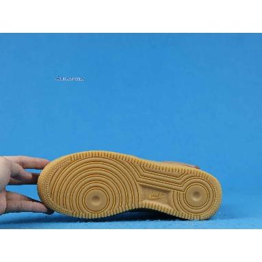 Nike Air Force 1 High Flax 2019 CJ9178-200 Flax/Wheat-Gum Light Brown-Black Sneakers