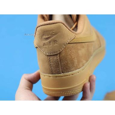 Nike Air Force 1 Low Flax 2019 CJ9179-200 Flax/Gum Light Brown/Black/Wheat Sneakers