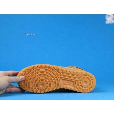 Nike Air Force 1 High 07 LV8 WB Flax 882096-200 Flax/Flax-Outdoor Green-Gum Li Sneakers
